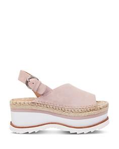 Marc Fisher LTD. - Women's Quint Suede Platform Sandals