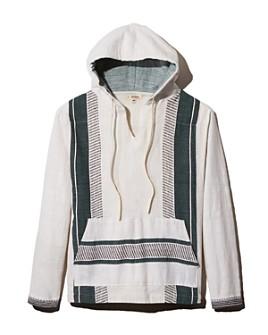 Lemlem - Rada Striped Hooded Regular Fit Pullover Shirt