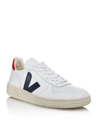 VEJA Men's V-10 Leather Sneakers