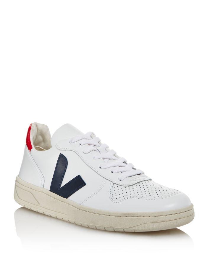 VEJA Men's V-10 Leather Sneakers  | Bloomingdale's