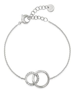 Marco Bicego 18K White Gold Jaipur Diamond Link Bracelet-Jewelry & Accessories
