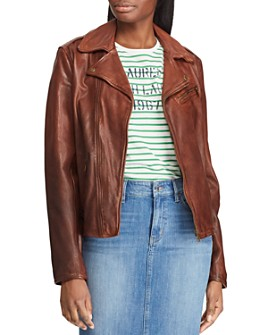 Ralph Lauren - Leather Moto Jacket