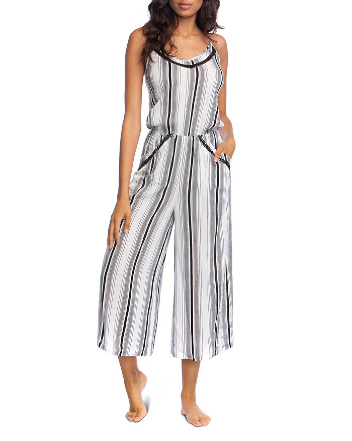 ae92f9cdfad73 Lucky Brand - Venice Vibes Jumpsuit Swim Cover-Up