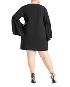 Rachel Roy Plus - Bette Bell Sleeve Mini Dress