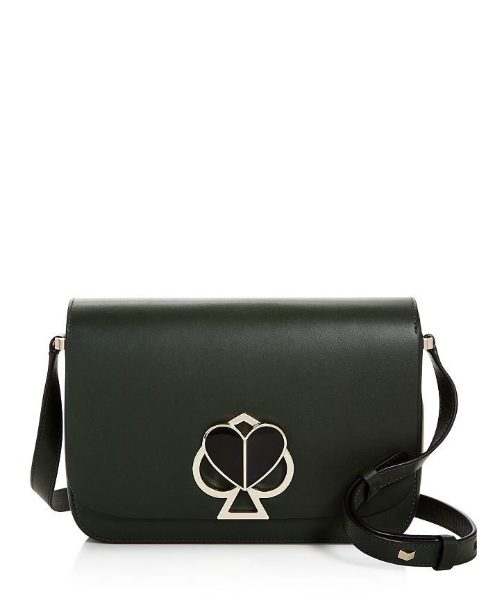 kate spade new york - Medium Flap Leather Shoulder Bag