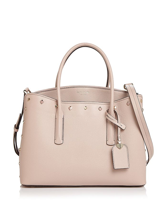 kate spade new york - Large Studded Leather Satchel