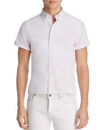 The Men's Store at Bloomingdale's - Short-Sleeve Seersucker Slim Fit Button-Down Shirt - 100% Exclusive