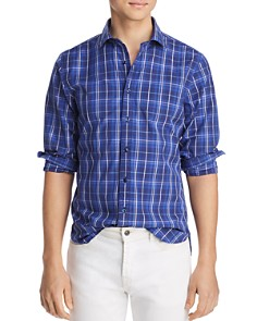 The Men's Store at Bloomingdale's - Plaid Slim Fit Shirt - 100% Exclusive