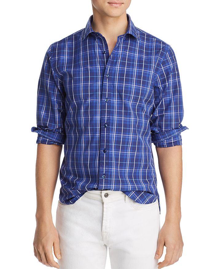 The Men's Store at Bloomingdale's - Plaid Regular Fit Shirt - 100% Exclusive