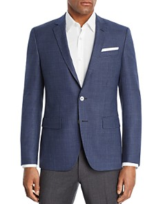 BOSS - Hutsons Textured Solid Slim Fit Sport Coat