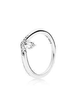 Pandora - Sterling Silver & Cubic Zirconia Classic Wish Ring