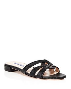 b32e14a6e1ca Stuart Weitzman - Women s Cami Knotted Slide Sandals ...