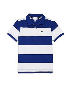 Lacoste - Boys' Striped Piqué Polo - Little Kid, Big Kid