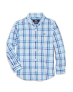 Vineyard Vines - Boys' Plaid Sport Shirt - Little Kid, Big Kid