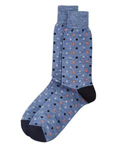 The Men's Store at Bloomingdale's - Dot Socks - 100% Exclusive