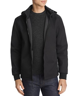 Cole Haan - Soft-Shell Zip-Front Jacket