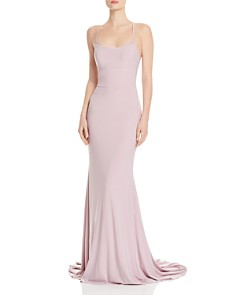 Faviana Couture - Back Lace-Up Gown