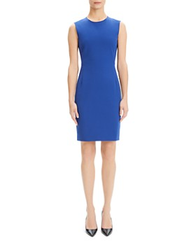 51407141607 Theory - Classic Sheath Dress ...