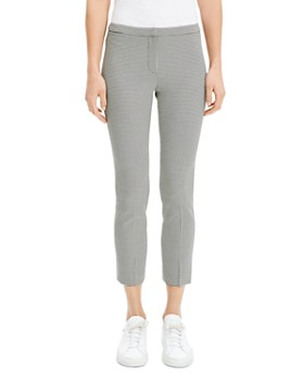 Theory - Classic Houndstooth Skinny Pants