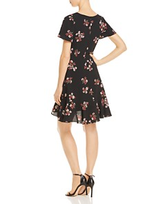 BB DAKOTA - Floral Canyon Tie-Front Dress - 100% Exclusive