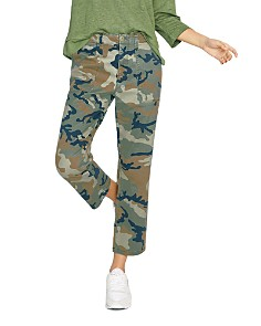 Sanctuary - Peace Cropped Camo Pants