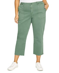 Sanctuary Curve - Peace Cropped Pants
