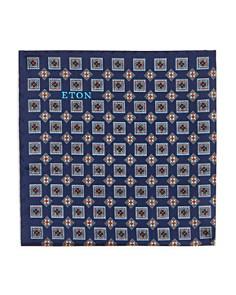 Eton - Squares Neat Silk Pocket Square
