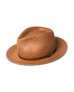 168b219e2 Bailey of Hollywood Gelhorn Straw Hat with Leather Band | Bloomingdale's