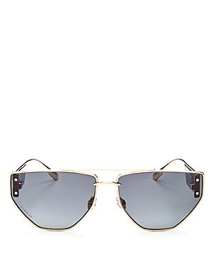 Dior Women's Dior Clan2 Brow Bar Geometric Sunglasses, 61mm