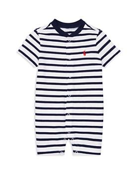 Ralph Lauren - Boys' Striped Cotton Jersey Shortall - Baby