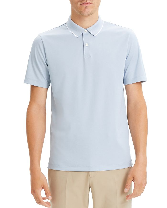 Theory - Standard Tipped Regular Fit Polo Shirt - 100% Exclusive