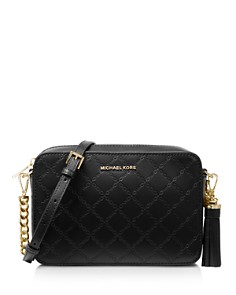 MICHAEL Michael Kors - Medium Leather Crossbody Camera Bag