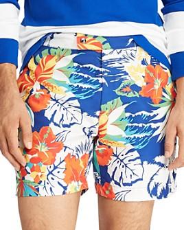 Polo Ralph Lauren - Monaco Floral-Print Swim Trunks
