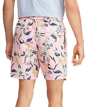 Polo Ralph Lauren - Traveler Lotus-Print Swim Trunks