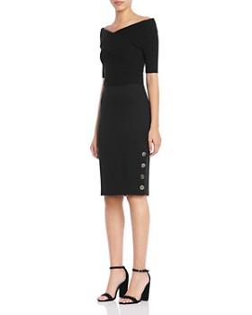 Bailey 44 - Schooner Ponte Pencil Skirt
