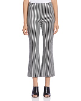 Bailey 44 - Propeller Striped Cropped Flared Pants