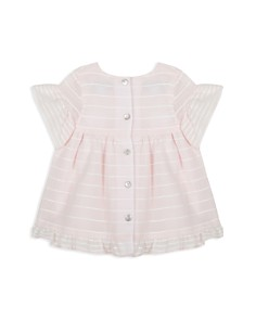 Tartine et Chocolat - Girls' Striped Flutter-Sleeve Dress - Baby