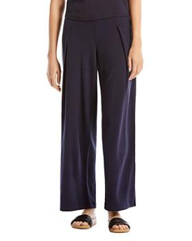 Michael Stars - Brea Pleated Wide-Leg Pants