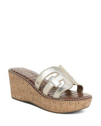 Sam Edelman - Women's Regis Platform Wedge Sandals