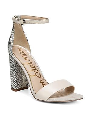 Sam Edelman Sandals Women's Yaro Ankle Strap Block Heel Sandals