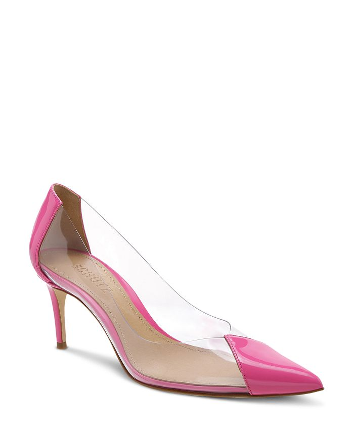 SCHUTZ - Women's Garthy Pointed-Toe High-Heel Pumps