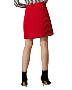 KAREN MILLEN - Pleated A-Line Skirt