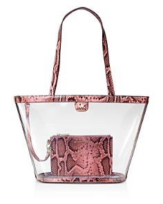 MICHAEL Michael Kors - Medium Rita Clear Bucket Tote Bag - 100% Exclusive
