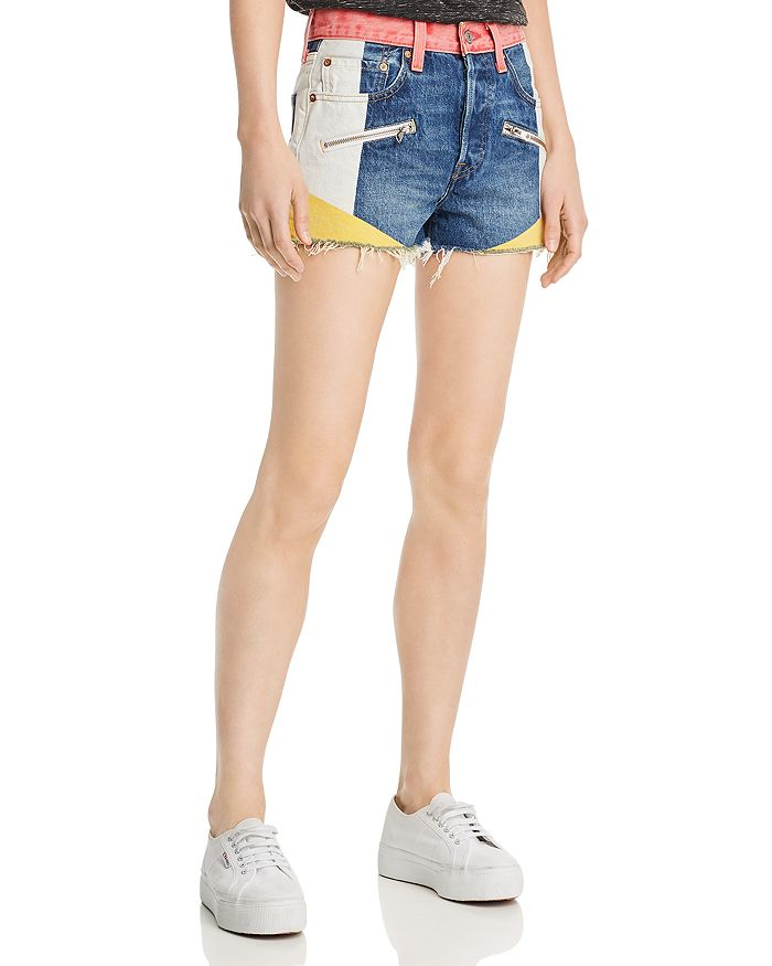 6f9b4fc6e5 Levi's 501 High Rise Denim Shorts in Pulling Teeth | Bloomingdale's