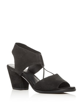 Eileen Fisher - Women's Lino Block-Heel Sandals