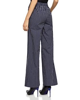 BCBGENERATION - Striped Wide-Leg Pants