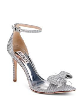 5366857ff30 Badgley Mischka - Women s Lindsay Clear Peep Toe Pumps - 100% Exclusive ...