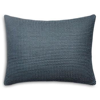 "Vera Wang - Tape Knit Decorative Pillow, 15"" x 20"""