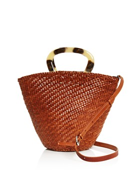 Loeffler Randall - Agnes Woven Leather Bucket Bag ... dd20a8b63f9e9