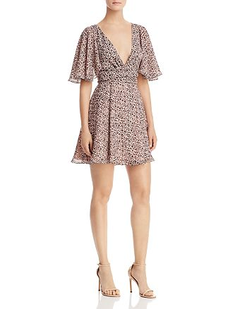 Fame and Partners - Floral Mini Dress